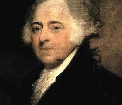 John Adams, truly a dapper gentleman.